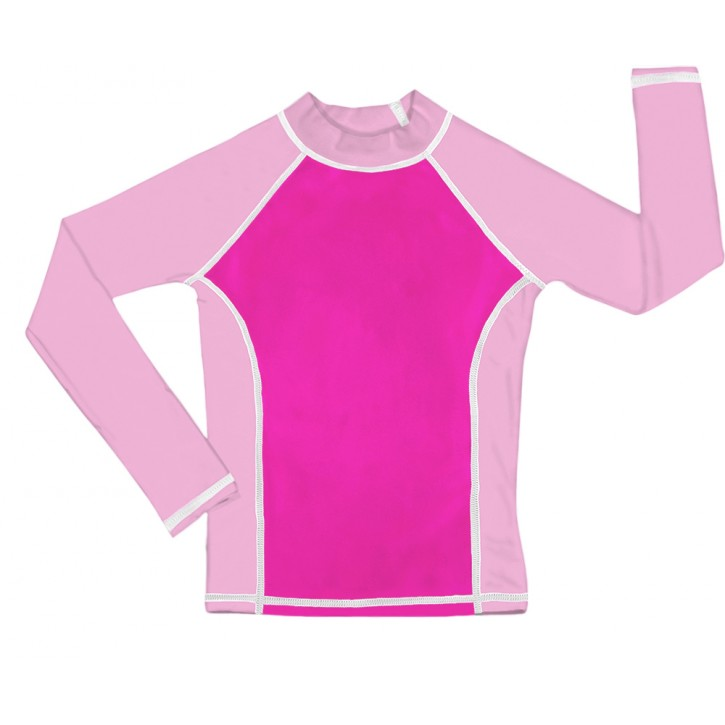Pink UV Long Sleeve Swim Shirt